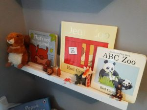 books, children's rooms, getting organised with Serene Spaces for You