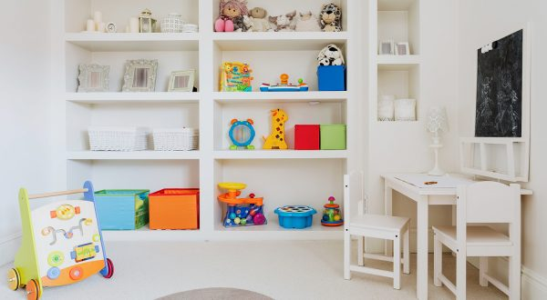 organised childrens rooms from Serene Spaces for You