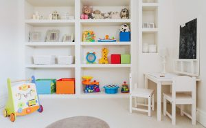 Playroom organising